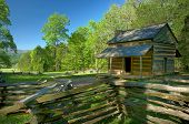 John Oliver's Cabin In Cades Cove Of Great Smoky Mountains National Park
