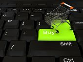 stock photo of internet shop  - Internet shop concept  - JPG