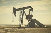 Постер, плакат: Pump Jack In South Central Colorado Usa