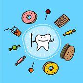 foto of bad teeth  - Child - JPG
