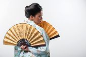 stock photo of japanese woman  - Asian beauty - JPG