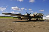 foto of b17  - World war two american bomber - JPG