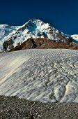 picture of shan  - Glacier below highest peaks in Tien - JPG