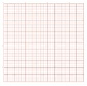 stock photo of graph paper  - Vector background with red graph paper for engineering work - JPG