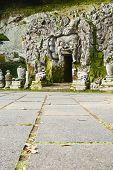 foto of cave  - Goa Gajah cave temple  - JPG
