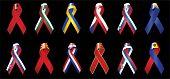 Europe Ribbons poster
