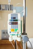 picture of infusion  - Automatic infusion pump of IV drop for patient - JPG