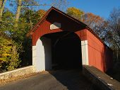 picture of covered bridge  - Knecht - JPG