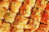image of eastern culture  - Baklava is a Middle - JPG
