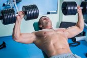 image of dumbbells  - Strength training with dumbbells - JPG