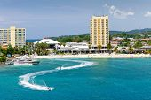 pic of waverunner  - Beach and Tourism Area of Ocho Rios Jamaica - JPG