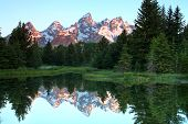 Schwabachers Landing at Sunrise poster