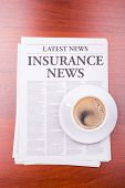 The Newspaper Insurance News And Coffee