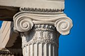 Ionic Capital At The Erechtheum, Athens poster