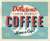 stock photo of brew  - Vintage sign  - JPG
