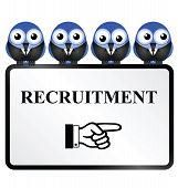 Recruitment Sign