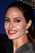 LOS ANGELES - FEB 10:  Angelina Jolie at the 2013 American Society of Cinematographers Awards at the