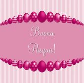 stock photo of pasqua  - Pink Italian  - JPG