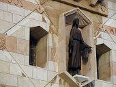 Постер, плакат: Девы Марии Базилика Благовещения Назарет Израиль
