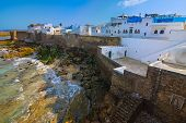 image of asilah  - Sunny View of the Historic Town of Asilah - JPG