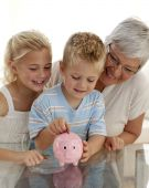 stock photo of save money  - Close - JPG