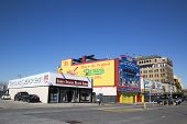 Coney Island Landmarks The Nathan s original restaurant and Coney Island Beach Shop