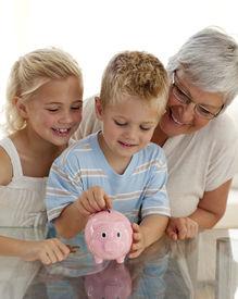 stock photo of save money  - Close - JPG