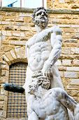 picture of perseus  - Hercules and Cacus, Piazza della Signoria - Florence
