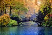 pic of old bridge  - Autumn  - JPG