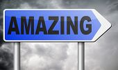 stock photo of you are awesome  - awesome and amazing - JPG