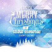 stock photo of christmas eve  - Christmas Greeting Card - JPG