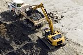 picture of lorries  - Excavator digger  - JPG