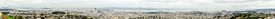 pic of chola  - Aerial panoramic view of downtown San Francisco city skyline California United States of America - JPG