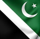 stock photo of pakistani flag  - Islamabad Capital Territory Flag Pakistan - JPG