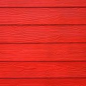 stock photo of red barn  - red wood board barn plank texture background - JPG