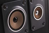 stock photo of speaker  - The Music Speaker for Nice Quality sound