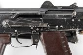 picture of levers  - Kalashnikov machinegun - JPG