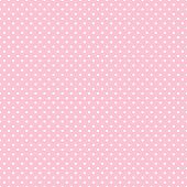 pic of dot pattern  - White polka dots on pastel pink background for albums - JPG