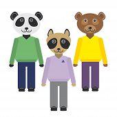 pic of panda bear  - panda - JPG