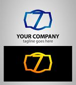 stock photo of number 7  - Number 7 logo - JPG