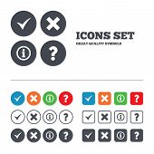 picture of faq  - Information icons - JPG