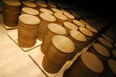 pic of molding clay  - Earthenware many handmade old clay pots - JPG