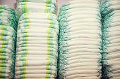 stock photo of diaper  - Children - JPG