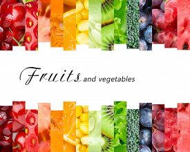 picture of fruits  - Fresh fruits and vegetables - JPG