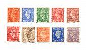 Постер, плакат: Старые почтовые марки