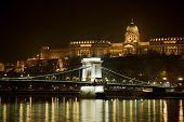 Постер, плакат: Будапешт ночь