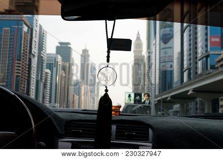 Allah Symbol Hanging In A