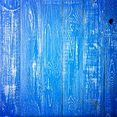 Texture Of Wood Blue Panel For Background Vertical. Square Background Close-up For Instagram poster