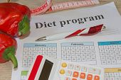 Food And Drink, Still Life, Diet And Nutrition Concept. Low-calorie Fruit Diet. Diet For Weight Loss poster