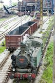 pic of former yugoslavia  - steam locomotive - JPG